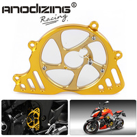 CNC Motorcycle For Kawasaki Z1000 10 13 Z1000SX NINJA1000 Accessories Left Engine Front Sproket Chain Guard