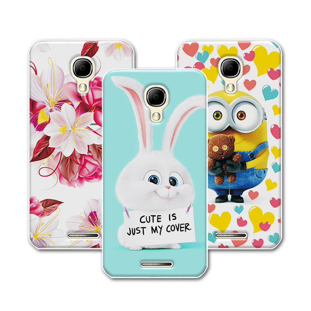 online store 02a14 31104 US $1.39 30% OFF|Soft Silicone TPU Coque Alcatel One Touch Pixi 4 5.0