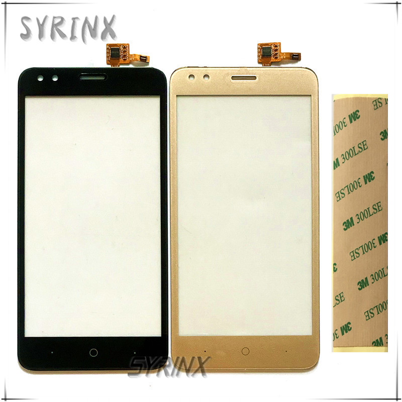Syrinx With Tape Moible Phone Touch Panel For Micromax Bolt Ultra 2 Q440 Touch Screen Digitizer Front Glass Touchscreen Sensor