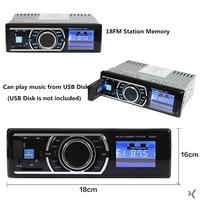 Vehemo AUX Black Smart Premium Car MP3 Accessories Audio Player Car Radio Playback MP3 Player Stereo