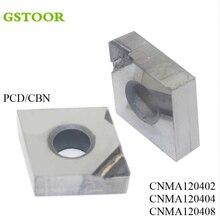 2PCS CNMN PCD CBN turning blade tool diamond for lathe milling cutter hard