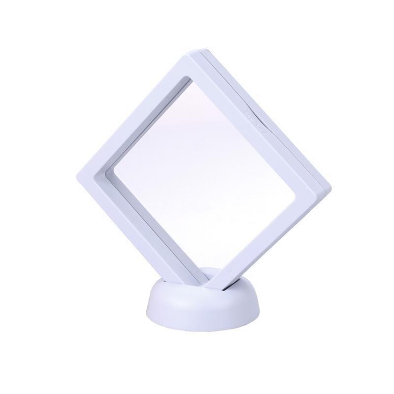 3D marco flotante sombra caja vitrina moneda caja exhibición de la ...