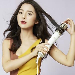 Image 5 - PRITECH Multifunctional Blow Hair Dryer Professional Hair Curler Hair Styling Tools Hairdryer Curler Brush Powerful Hair Dryer