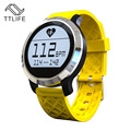 Original ttlife marca relojes bluetooth smart watch para apple iphone ios android teléfono alarma lcd deportivo reloj reloj dispositivo portátil