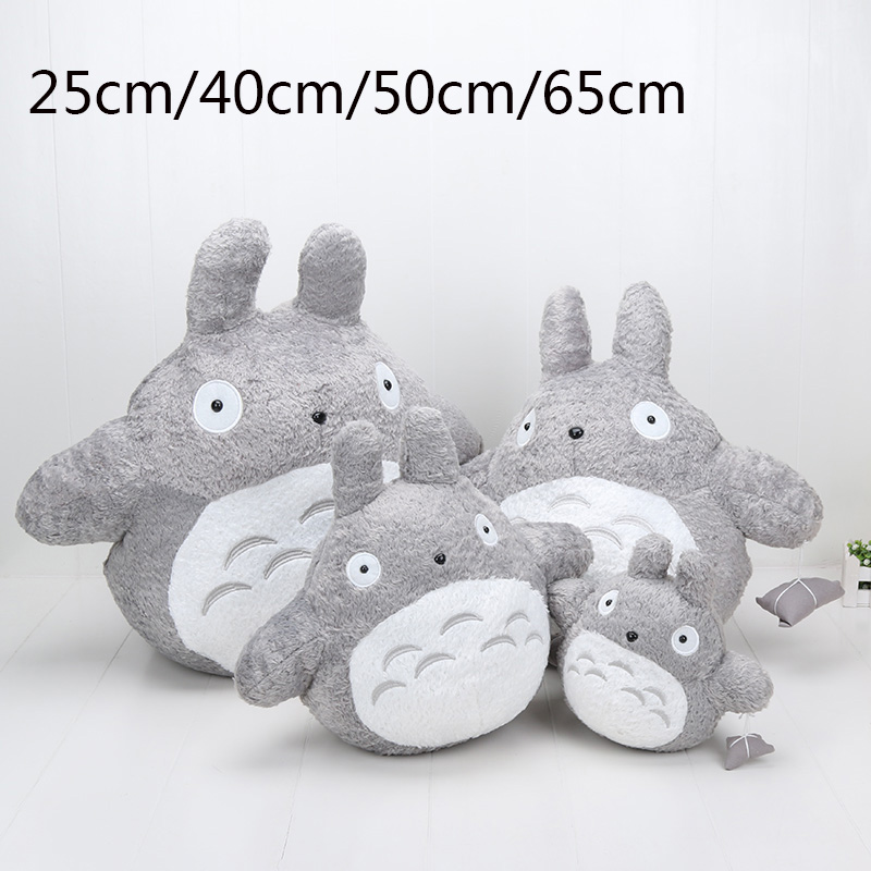 Cartoon Stuffed My Neighbor Totoro Plush Toys Gifts Toys For Children Soft Toy Animation Doll 1pcs 20cm my neighbor totoro cartoon plush toy totoro stuffed animal soft doll girl gift kids toy popular toy free shipping