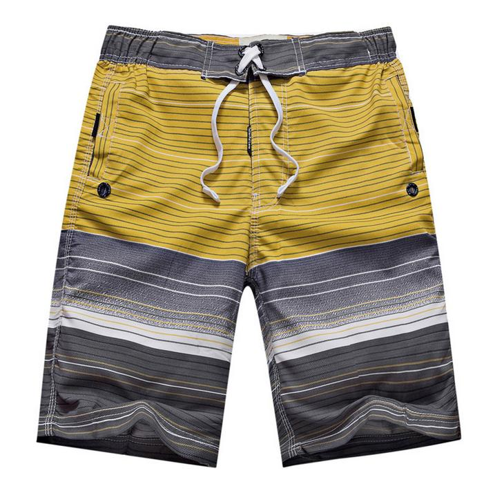 Summer 2019 Outdoor Sport Drawstring Quick-drying Male swimming Baggy Loose youth Men's Beach City Boy Lace-up   Board     Shorts