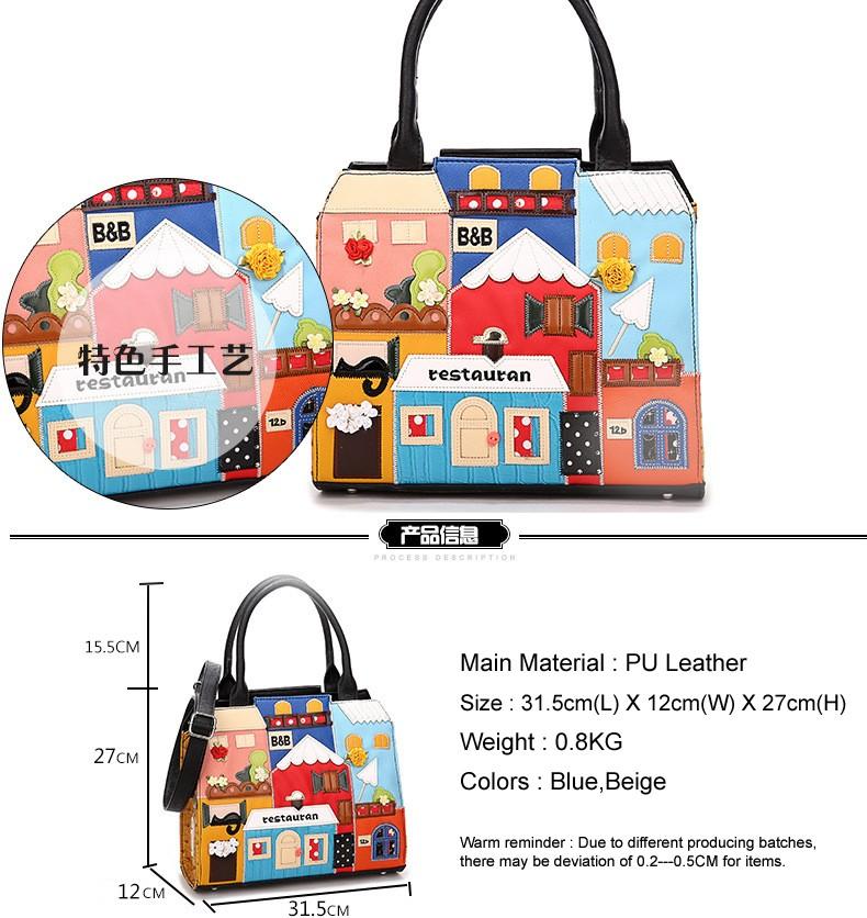 Cartoon Crossbody Bags