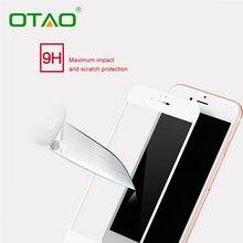 Черный Белый Полное Покрытие Закаленное Стекло Защитная Пленка Для Apple iPhone 6 Plus 6 S Plus 2.5D 5.5 дюймов 0.33 мм 9 H Anti-Scratch