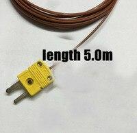 شحن مجاني الأصلي 50 قطعة 5 متر موصل استشعار استشعار نوع k الحرارية الذكور SMPW-K-M TT-K-24-SLE