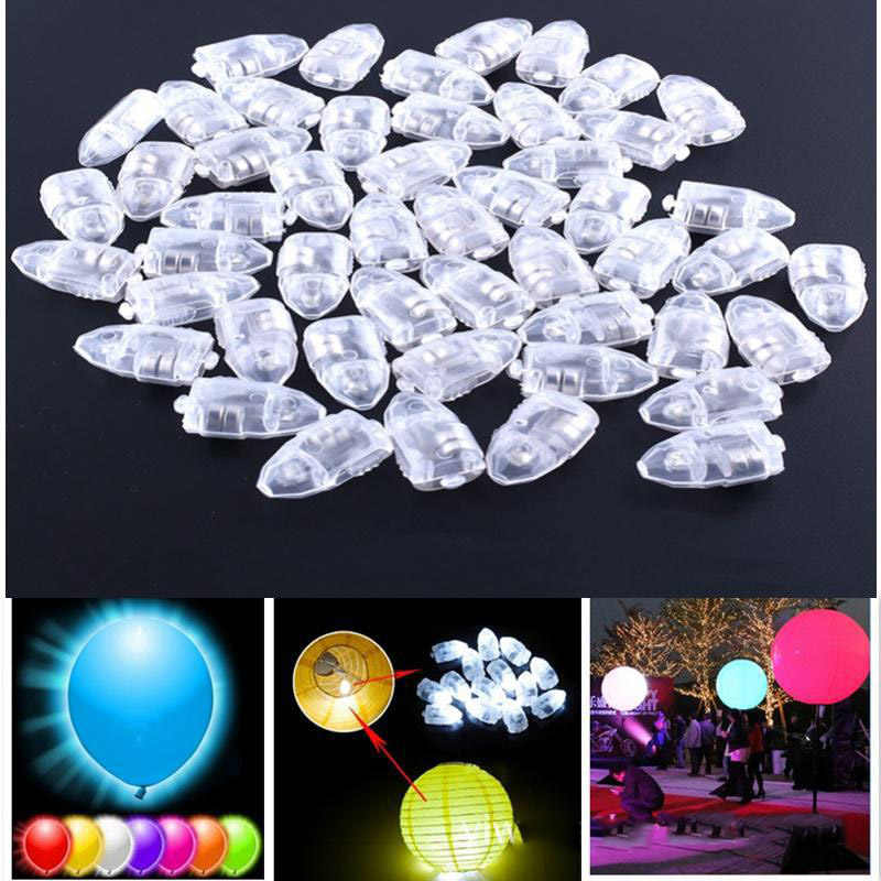 20pcs/lot High Brightness LED Balloon Light Glow Flash Ball Lamps for Paper Lantern Balloon birthday party decoration mini ball