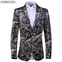 Luxury Velvet Blazer Men 2018 Brand New Italy Style Blazer Mens Single Breasted Suits Jackets Casual Weeding Party Prom Wear 3XL