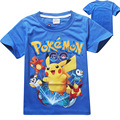 Children's T shirt boys t-shirt Baby Clothing Little boy Summer shirt Tees Designer Cotton Cartoon Pokemon Go Tops Tees