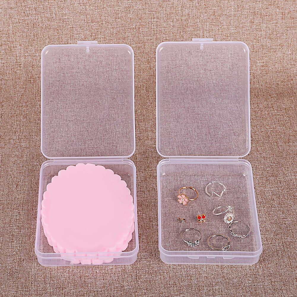 البلاستيك الشفاف ساحة رموش زائفة صندوق تخزين الملقط صندوق عرض مجوهرات hpt بيع