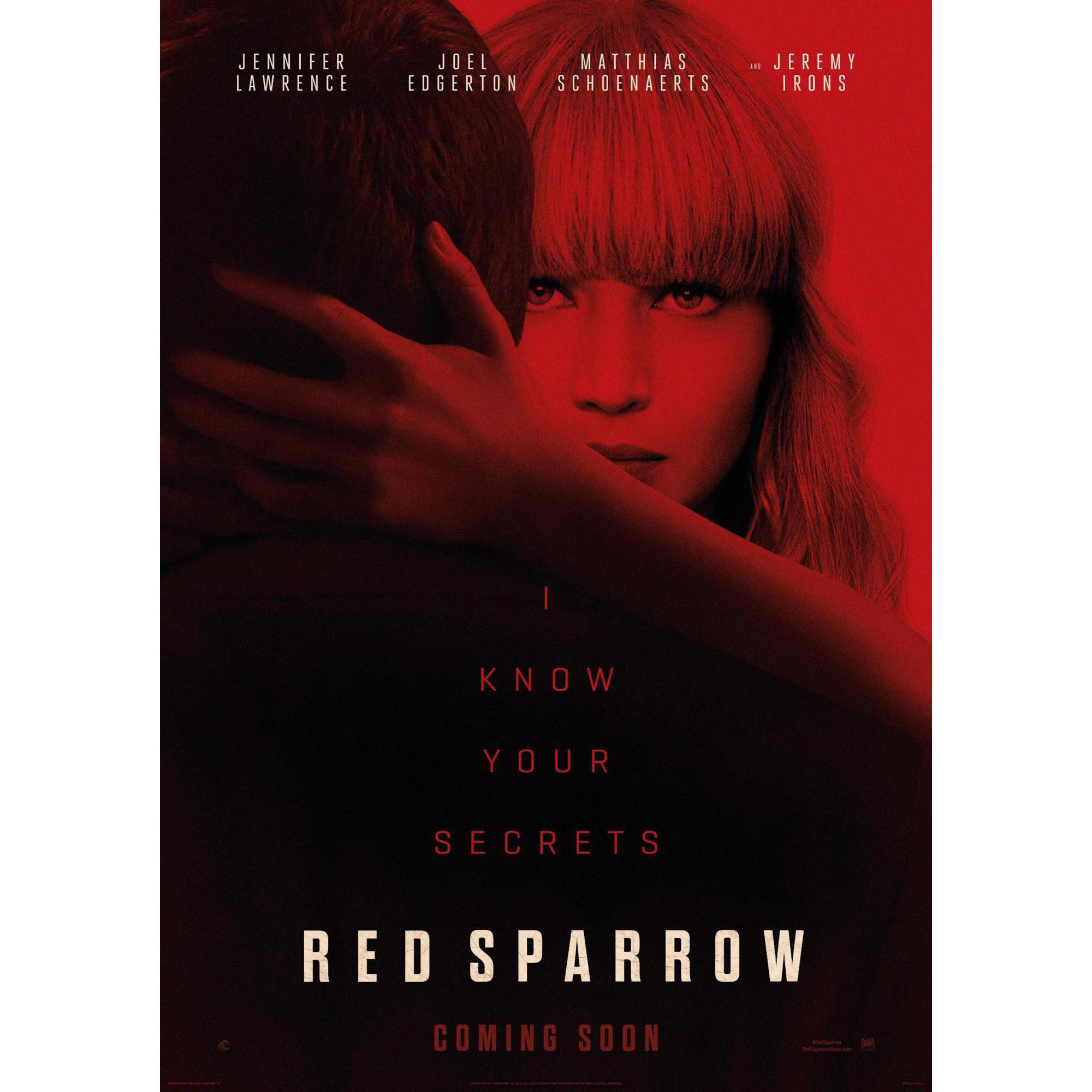 Rojo gorrión decoración de hogar Decoración Kraft Movie poster ...