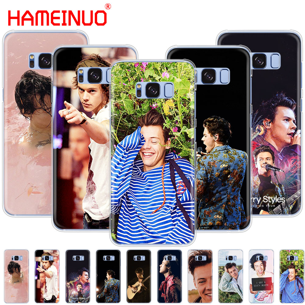 HAMEINUO <font><b>Harry</b></font> <font><b>Styles</b></font> cell <font><b>phone</b></font> <font><b>case</b></font> cover for <font><b>Samsung</b></font> Galaxy S9 S7 edge PLUS S8 S6 <font><b>S5</b></font> S4 S3 MINI image