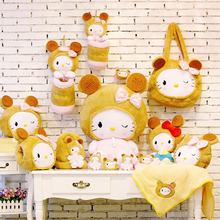 Hello Kitty biscuits kt kits family set seres – holdpillow doll plush toys girl's gift free shipping