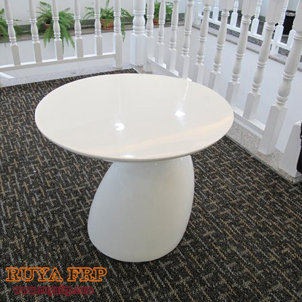 Ruya Fiberglass Table Home Mushroom Coffee Desk Outdoor Garden Decoration Furniture Nature Design By