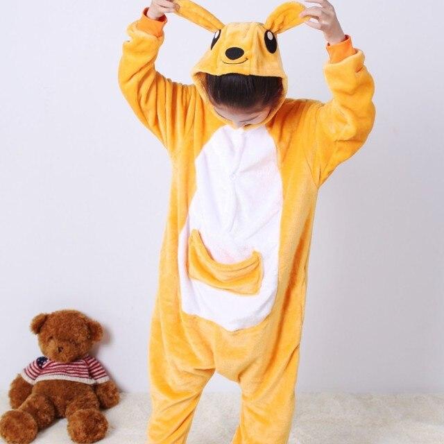 16e3760e43 Lovely anime Cosplay traje para niños unisex invierno nuevo pijamas  animales para niños niñas onesie pijama