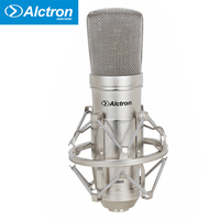 condenser microphone studio recording broadcasting vocal mic with shock mount Alctron MC002S