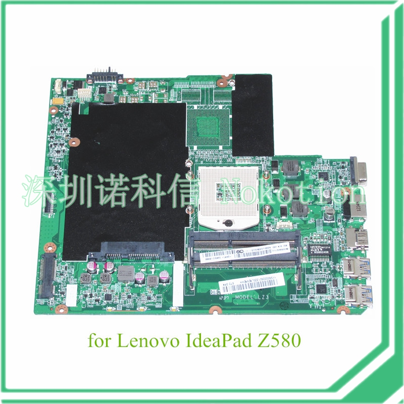 NOKOTION DA0LZ3MB6G0 for lenovo ideapad Z580 laptop motheboard HM76 DDR3 11S90000921 laptop motherboard fit for lenovo z580 notebook pc main board daolz3mb6g0 90000921 11s90000921 ddr3 usb3 0