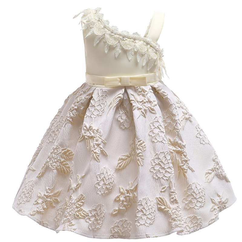 2018 Baby Girls' Clothes 2-9 years girls spring Summer Dress Sleeveless Snowflake printing Party Dresses fashion dresses серьги из золота e01 d e312774sap