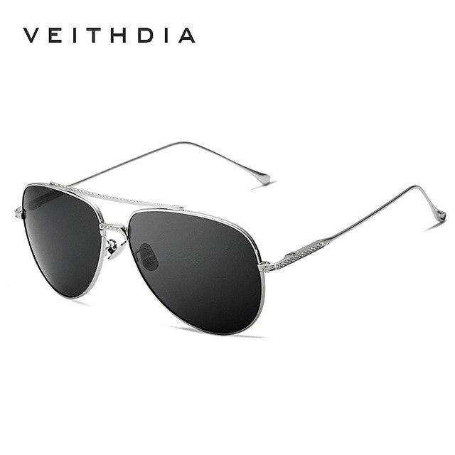 2018 New  VEITHDIA Vintage Pilot Brand Designer Sunglasses Men/Women Male Sun Glasses gafas oculos de sol masculino VT3616 3