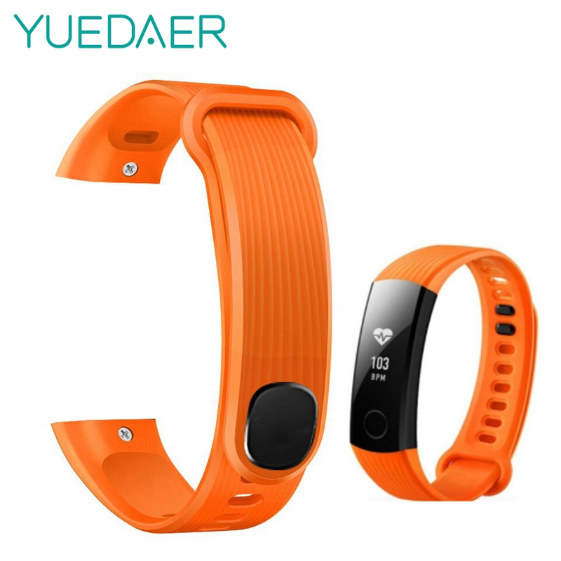 Yuedaer Strap For Huawei honor 3 bracelet Sport Smart Band for Honor 3 smart ring watchband 16mm silicone strap