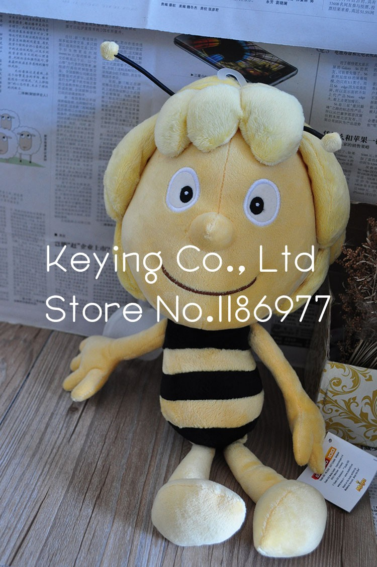 Big Cute Soft Original Maya Bee Stuffed Animal Plush Toy Doll Birthday Gift Children Gift Limited Collection цена