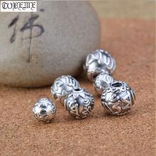 Новинка! 999 серебряные тибетские бусины Ом Мани Падме ГУМ из