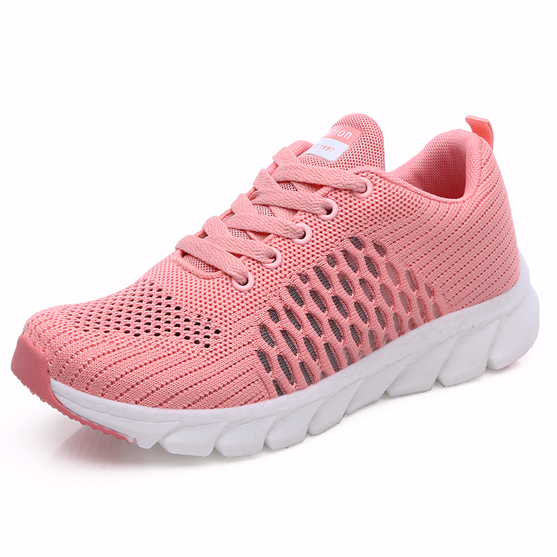 Women Sports Shoes Women Casual Shoes New Fashion Women Shoes Mesh Breathable Running Shoes Lightweight Outdoor Sports Shoes in Women 39 s Vulcanize Shoes from Shoes