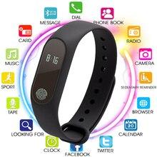 цена Bluetooth Bracelet Smart Watch Men Women Waterproof Smartwatch for Android IOS Fitness Tracker Electronic Smartband PK Mi Band 2 онлайн в 2017 году