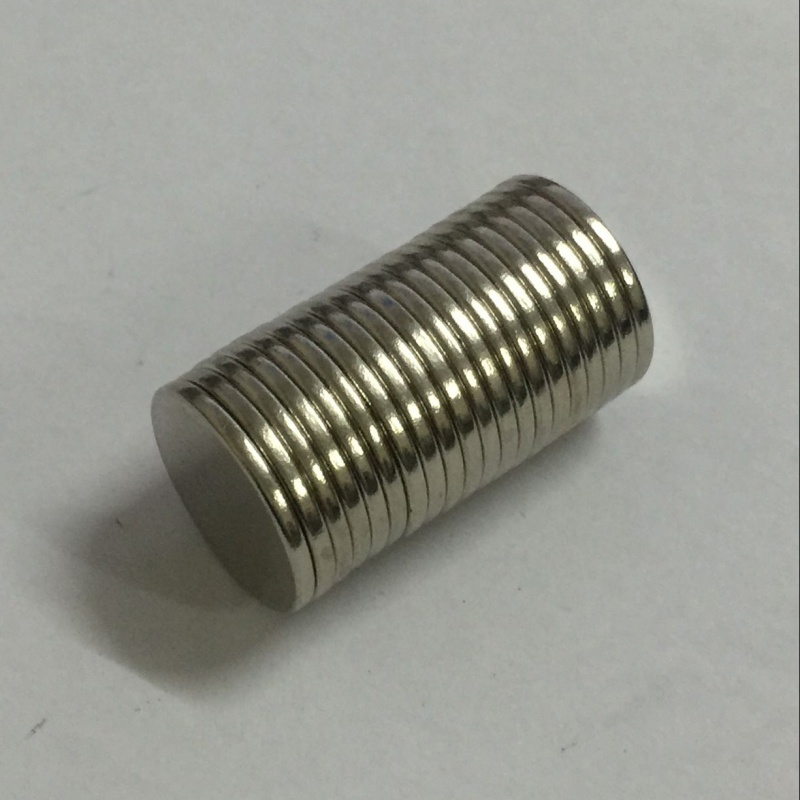 20 Pieces/Pack 20 mm x 2mm Strong Powerful  Magnetic Materials Neodymium Magnet without Hole Mini Small Round Disc 2018