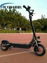 2017 kwheel podwójny napęd fajne modelu 2000 w silnik mocny elektryczny scooter scooter 10 cal e-papieros z oleju hamulca