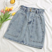 Cheap Wholesale 2018 New Summer Hot Selling Women's Fashion Casual Sexy Denim Shorts Skirt