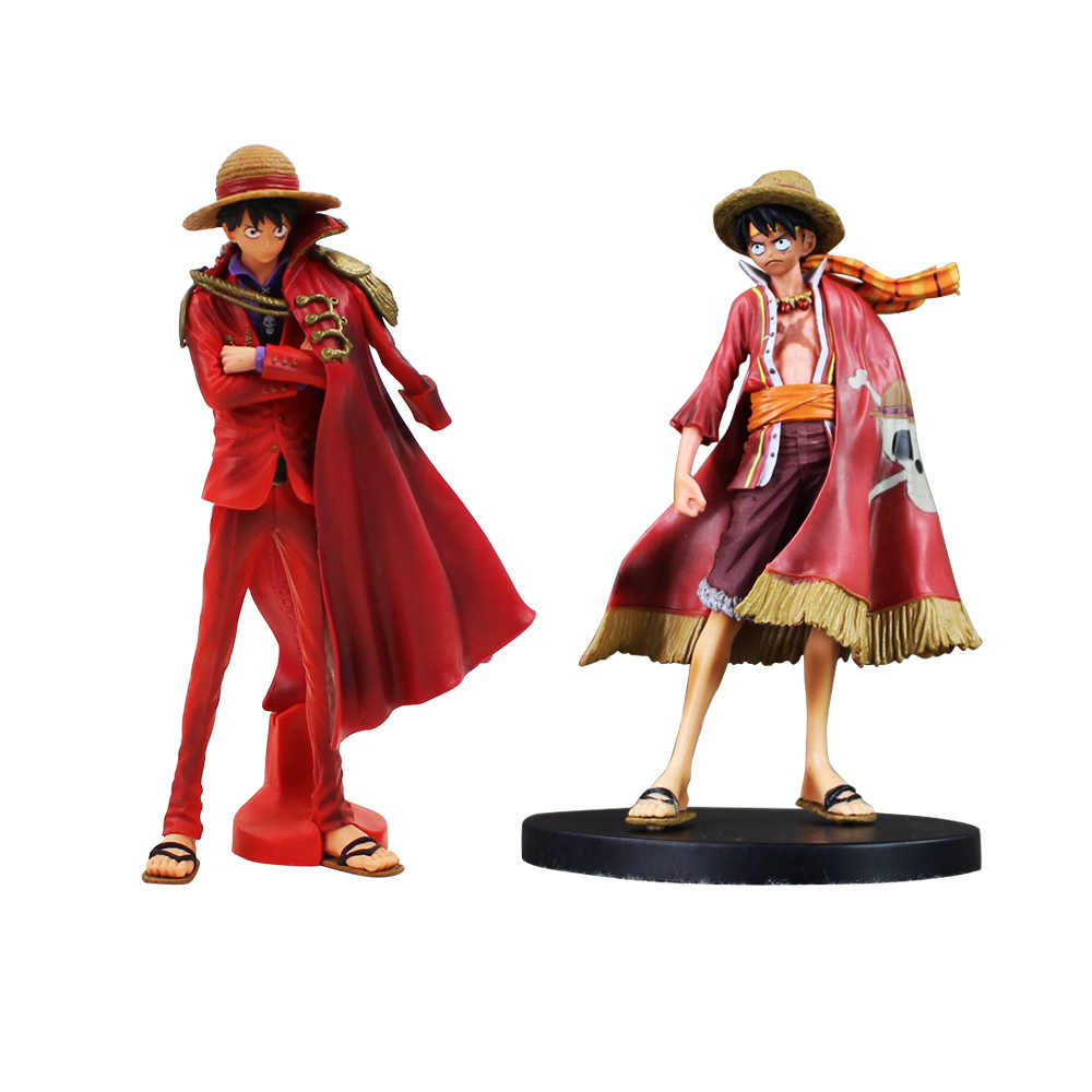 Cool Japan Anime One Piece Luffy Figure Grandline 15th Anniversary PVC Action  Figure Model Doll Toys 64e4de98b614