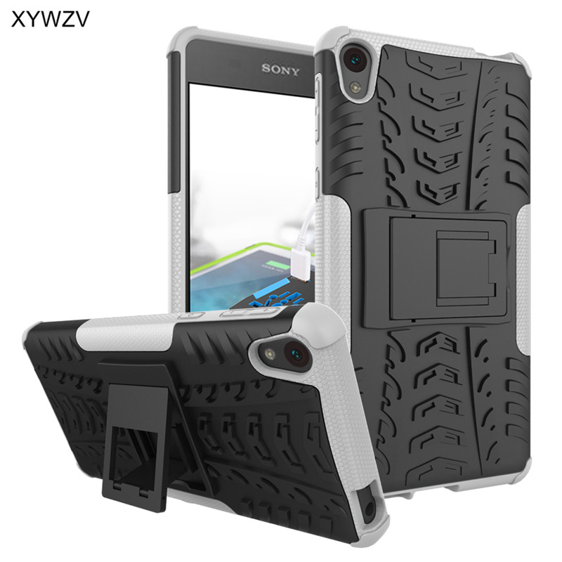Image 5 - sFor Coque Sony Xperia E5 Case Shockproof Hard Silicone Phone Case For Sony Xperia E5 Cover For Sony E5 F3311 F3313 Shell XYWZV-in Fitted Cases from Cellphones & Telecommunications