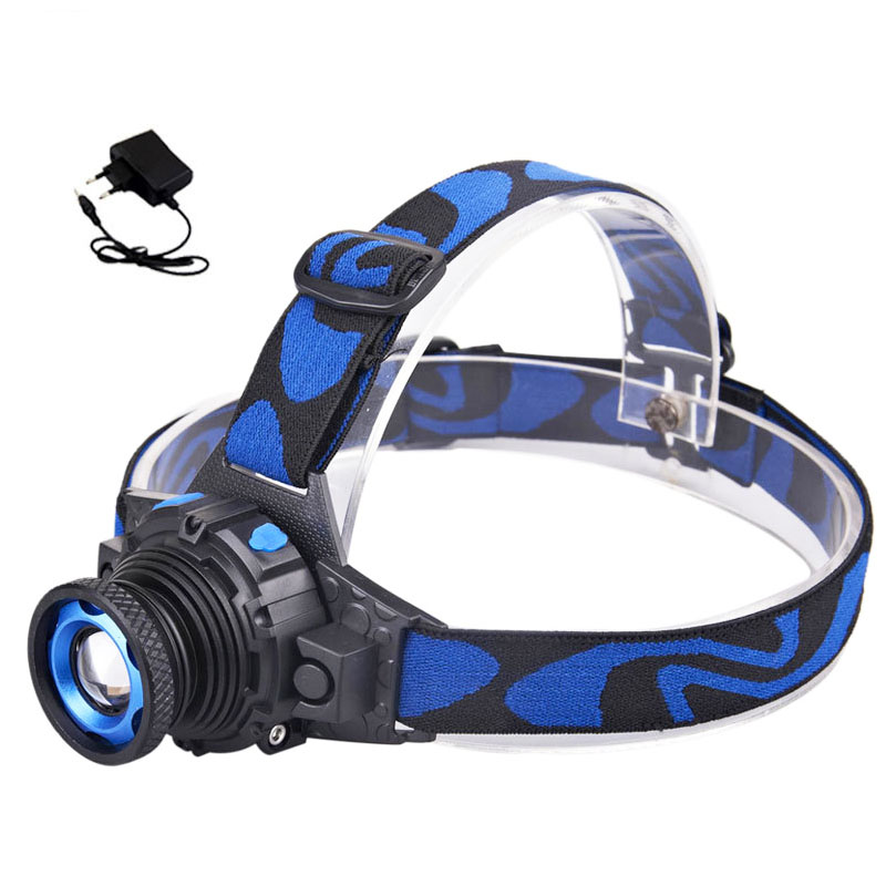 Cree Q5 LED Frontal Led Headlamp Headlight Flashlight Rechargeable Linternas Lampe Torch Head lamp Build-In Battery + Charger