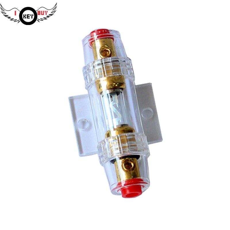 60A Amplificador Car Amplifier Speaker Modified Insurance Bile Flat Tube Car Audio Amplifier Copper