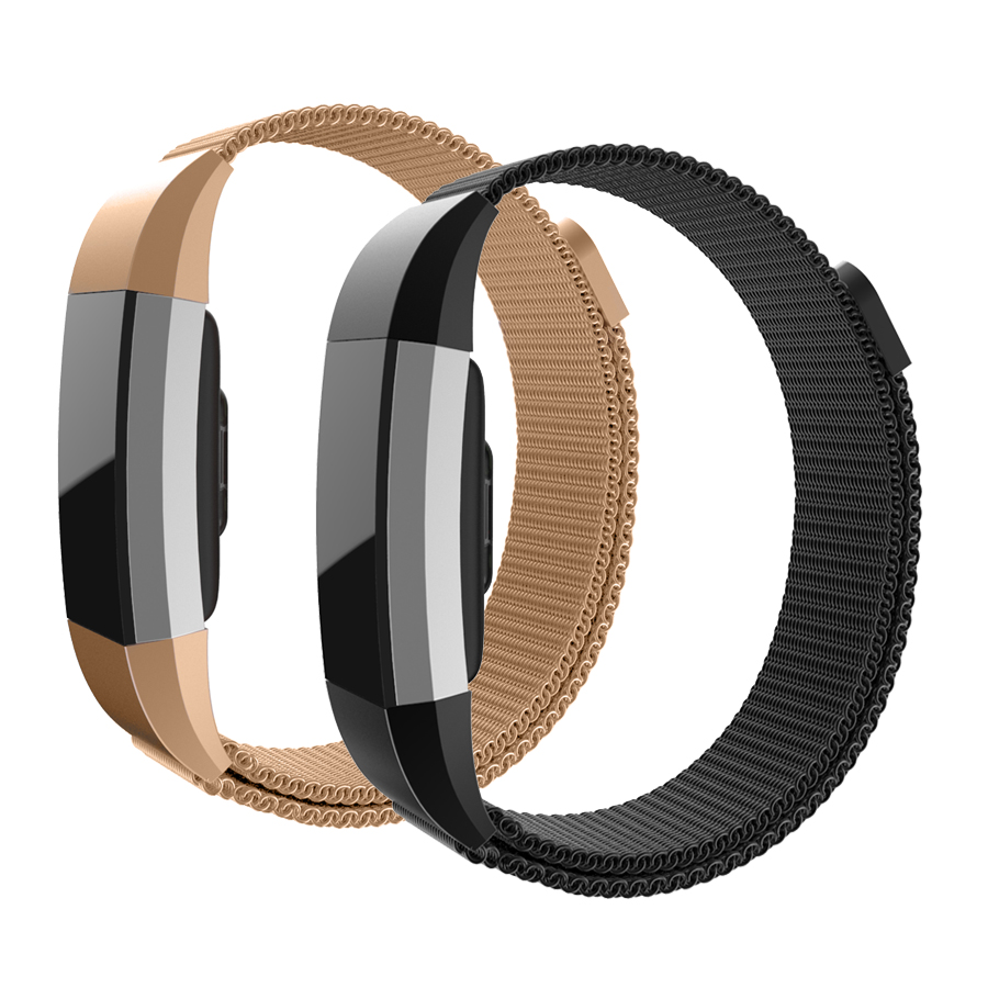 Hot Sale Milanese Loop Wrist strap for Fitbit Charge 2 Bracelet Band Bracelet Stainless Wrist Steel