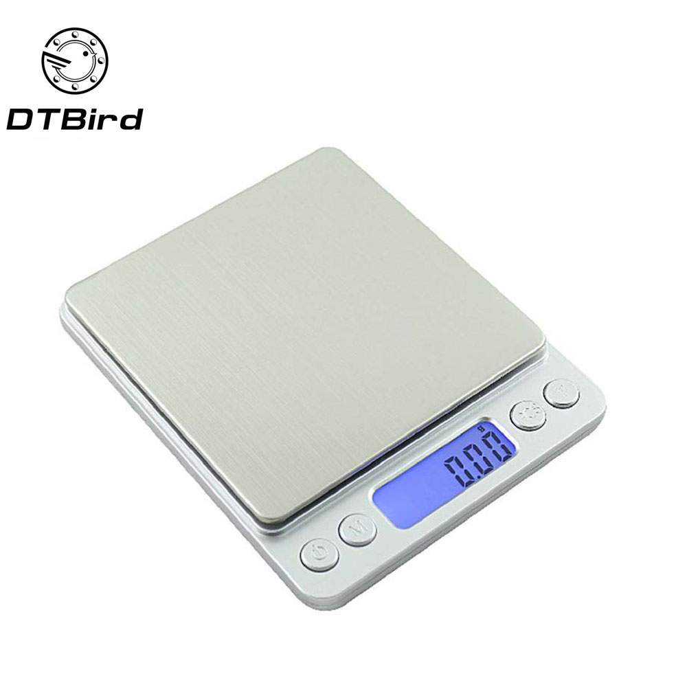 3000g/0.1g Portable Mini Electronic <font><b>Digital</b></font> <font><b>Scales</b></font> Pocket Case Postal Kitchen Jewelry <font><b>Weight</b></font> Balance <font><b>Digital</b></font> 500g/<font><b>0.01g</b></font> 20g 50g image