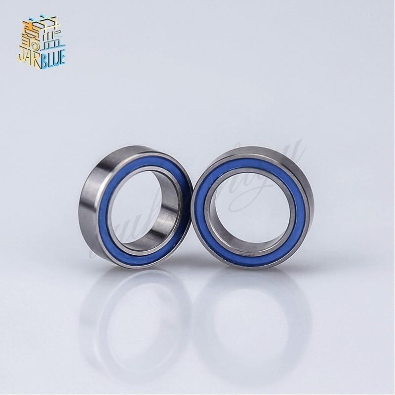 Blue 6700-2RS 10x15x4 mm 20pcs Rubber Sealed Ball Bearing Bearings
