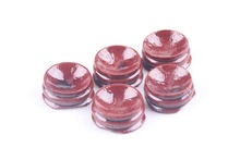 50pcs red patina wood tower stand pedestal holding CRYSTAL Sphere Wood Display Stand For 30-80MM Crystal Ball