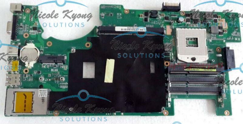free shipment 60-N0UMB1200-B01 60-N0UMB1000-D06 HM55 PGA998 MXMIII non-integrated motherboard Logic Board for ASUS G73JW laptop