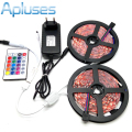 10M LED Strip Set SMD 5050 RGB 600LED Lighting Home Decoration 24Key IR Controller 12V 3A Power Supply Adapter