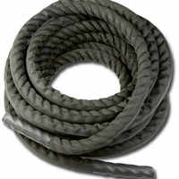 "Nylon covered (diameter 3.8cm x L 15meter) 1.5""x50' combat training rope Physical training rope"