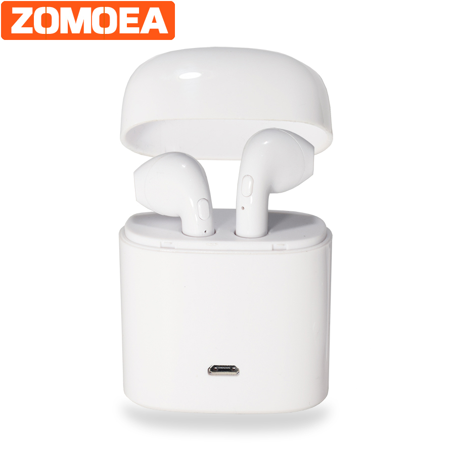 Wireless Stereo Headset Dual Bluetooth Earphone For IPhone Xiaomi Samsung Mobile Microphone