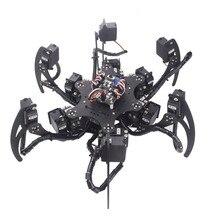 6 ноги робота/шестиногий робот-паук/18 градусов свободы/Набор для обучения/преподавания и эксперимент платформа