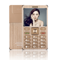 Small Size Metal Shell Card Phone SATREND A10 1 77 Inch TFT Dual SIM Card With