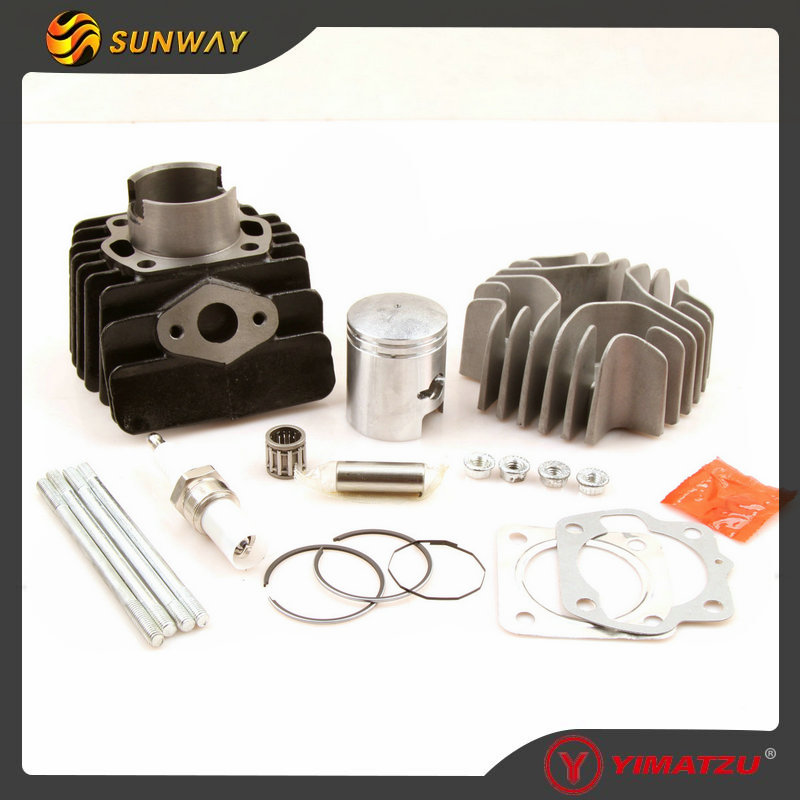 YIMATZU ATV Engine Parts Cylinder Kit 40.5MM for SUZUKI JR50 50CC Mini Dirt Bike 1978-2006