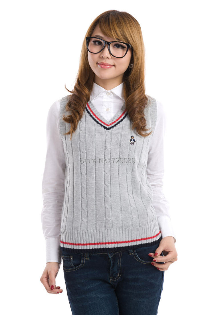 2015 fashion preppy style student school uniform cottiers Women ...